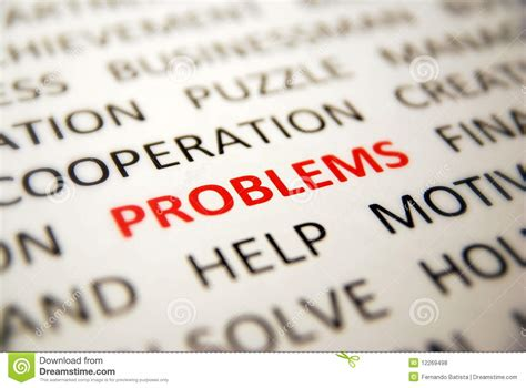 problems royalty free stock photos image 12269498