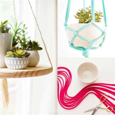 Suspension Pot De Fleur Macramé by Diy Pot De Fleur Suspendu 2 Tutos De D 233 Co Avec
