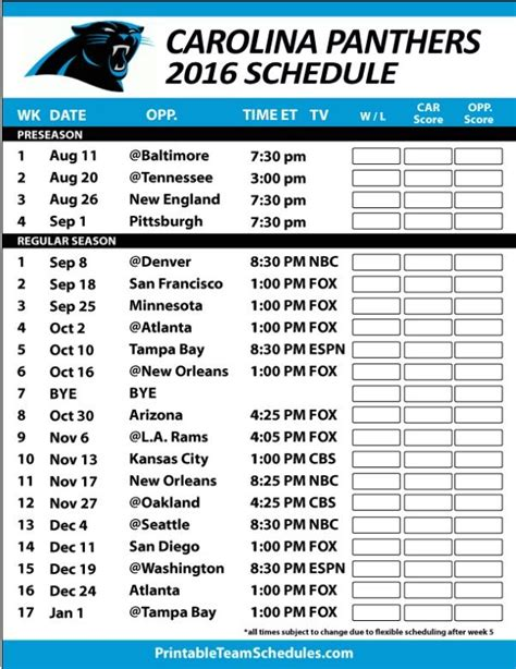section 2 football schedule 25 best carolina panthers football schedule ideas on