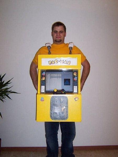 build  pac man arcade machine costume  halloween