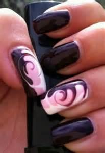 needle drag swirl sweet nail art addiction pinterest