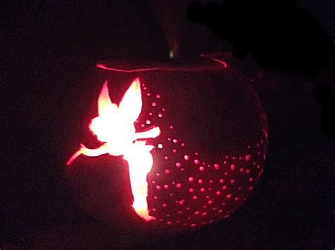 tinkerbell pumpkin carving tutorial youtube