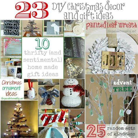 gift ideas for home decor 23 diy christmas decor and gift ideas