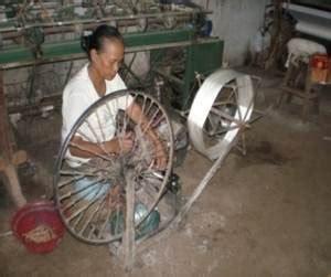 Sisir Tenun fitinline proses pembuatan tenun lurik