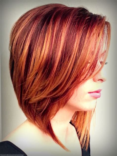 copper and brown sort hair styles best 25 red highlights hair ideas on pinterest fall