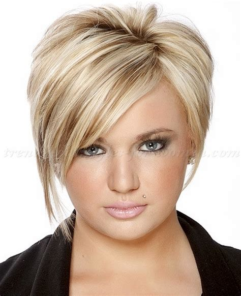 short trendy haircuts for large women short hairstyles with long bangs short asymmetrical