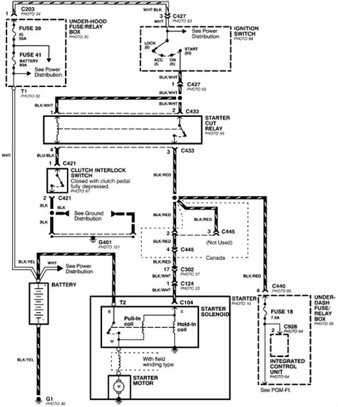100 94 honda civic relay wiring diagram