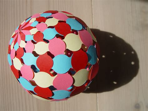 How To Make Paper Sphere - sphere 003 papermatrix