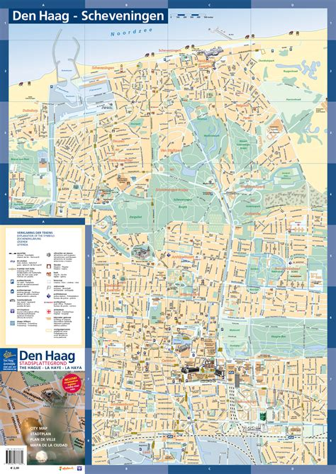 netherlands map pdf the hague tourist map the hague netherlands mappery