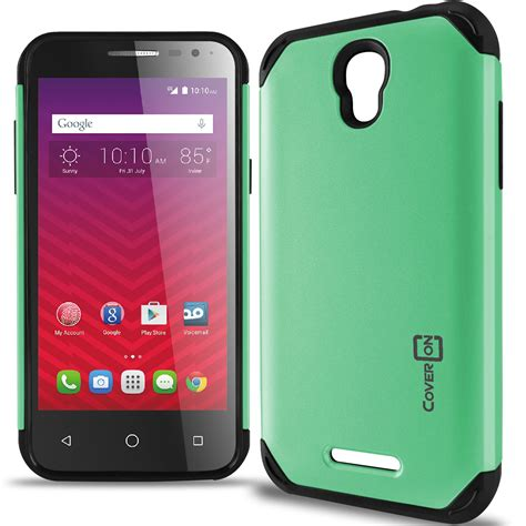 Touch Armor Slim Armor For Coolpad Sky 3 E502 For Alcatel One Touch Elevate Teal Black Slim