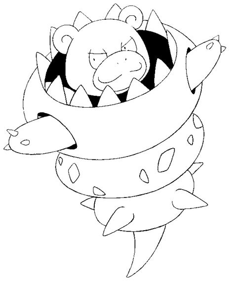 pokemon coloring pages houndoom free mega coloring pages