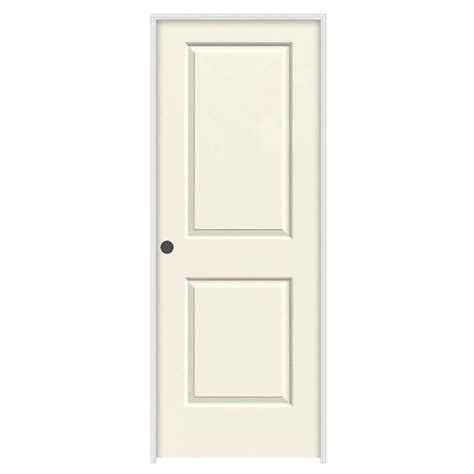 Jeld Wen 32 In X 80 In Molded Smooth 2 Panel Square 32 Interior Door