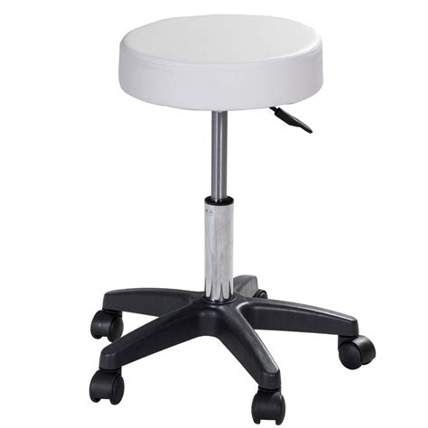 super buy black adjustable rolling bar stools swivel hydraulic chair stool facial massage 1 pc adjustable hydraulic rolling swivel bar stool massage