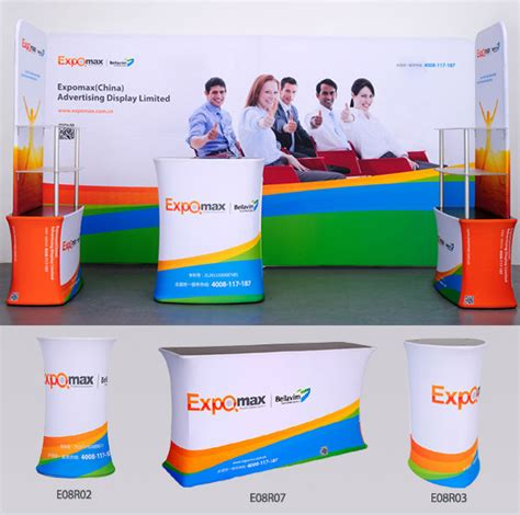 Pop Up Reception Desk Portable Folding Aluminum Trade Show Pop Up Reception Counter Buy Reception Counter Trade Show