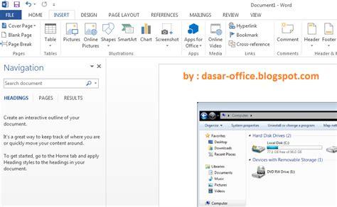 Microsoft Baru Fitur Baru Microsoft Office 2013 Di Banding Office Versi Sebelumnya