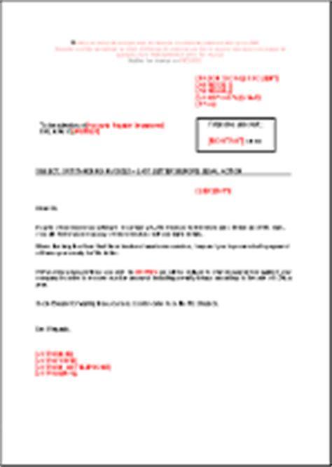 Lettre De Remerciement Translation Modele Mise En Demeure Anglais Document