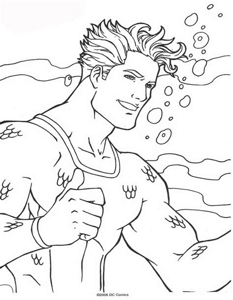 Kids N Fun Com 62 Coloring Pages Of Aquaman Aquaman Coloring Pages