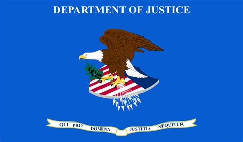 Us Department Of Justice Search File Flag Of The United States Department Of Justice Svg Wikimedia Commons