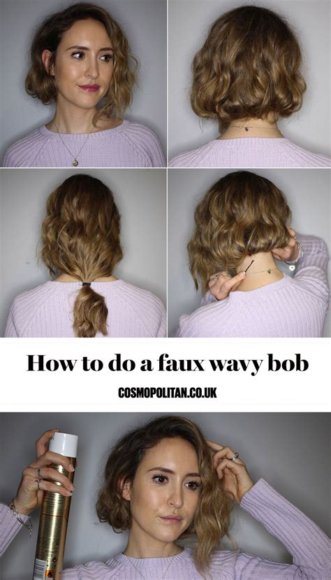 diy perfect bob hair how to the faux wob long wavy bobs wavy bobs