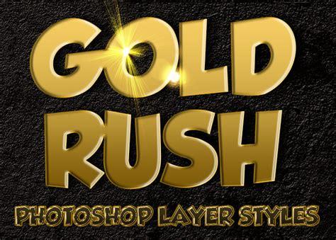 photoshop gold styles gold rush photoshop layer styles inspiks market