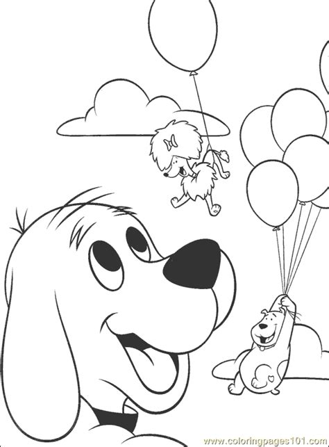 baby clifford coloring pages coloring pages