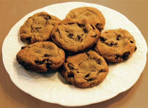 A Cookie chocolates chocolate chip cookies