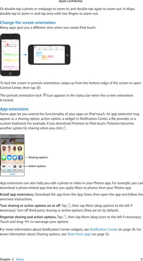 A1574 Ipod Touch User Manual 2 Of 5 Apple