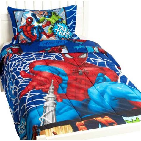 superhero bedding theme  boys bedroom interior decorating idea
