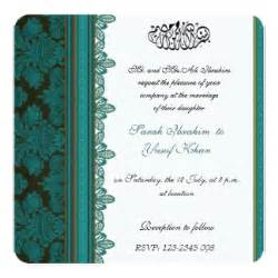 muslim wedding cards muslim wedding invitations announcements zazzle
