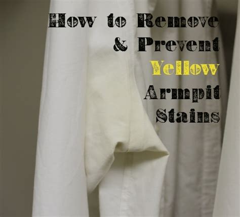 Style For Style Removing Armpit Stains by How To Remove Yellow Armpit Stains The Of Manliness