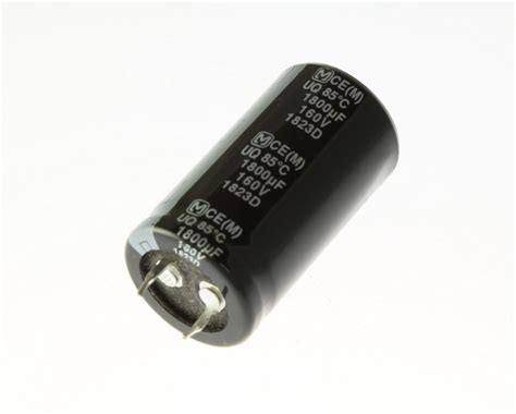 how do snap in capacitors work 8x 1800uf 160v radial snap in mount electrolytic capacitor dc 85c 1800mfd 1 800 ebay