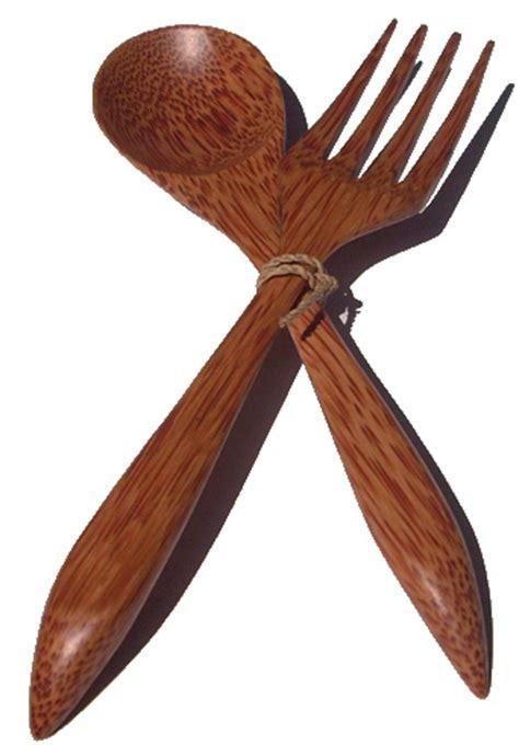 Sendok Garpu Kayu sendok garpu kayu kap lu kayu toko kerajinan indonesia rumahkerajinan