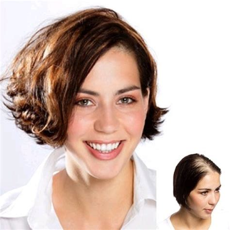 enchantop hair topper clip on hair toppers for women short hairstyle 2013