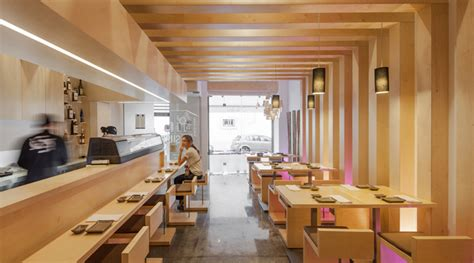 sushi bar 187 retail design