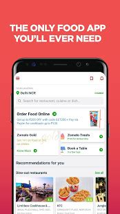 Play Store Zomato Zomato Restaurant Finder Apps On Play