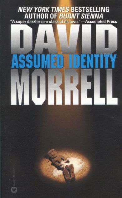 Assumed Identity By David R Morrell Hardcover Barnes