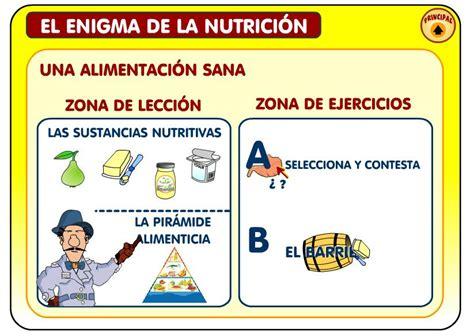 el enigma de la el enigma de la nutrici 243 n recurso educativo 47684 tiching