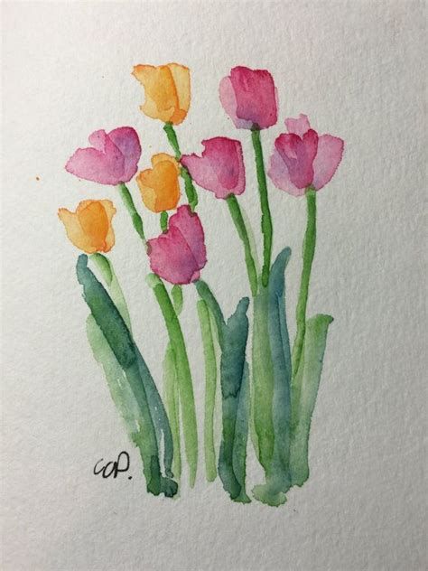 make flower painting 25 best ideas about watercolor cards on easy