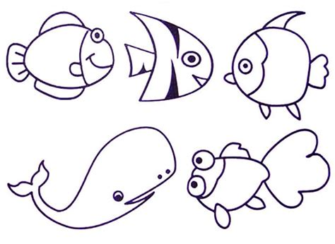 easy printable animal coloring pages easy animals to draw for kids pencil art drawing