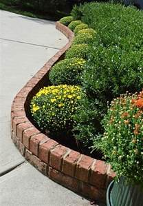 raised flower beds brick gardening pinterest raised