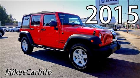 jeep wrangler unlimited sport 2015 2015 jeep wrangler unlimited sport