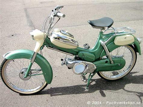 E Bike Vs Motorrad by Puch Lyx Vs 50 L 1957 Vintage Motorbikes Pinterest