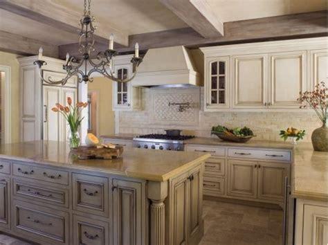 gorgeous kitchen   white cabinets  tile floors
