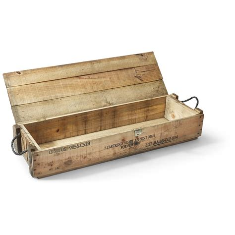 wood s l for sale us army wooden ammo boxes