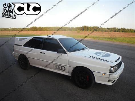 Audi Ur Quattro Parts by Audi Ur Quattro Coupe Sport Spoiler Ebay