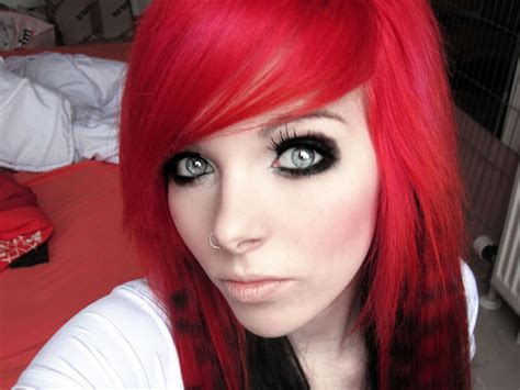 hairstyles red and black hair hair color black and red 18 free wallpaper