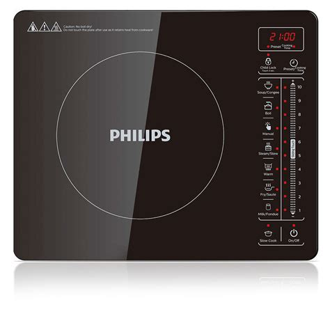 electric induction digital cooker philips hd4992 electric single induction cooker digital display hotplate cooktop ebay