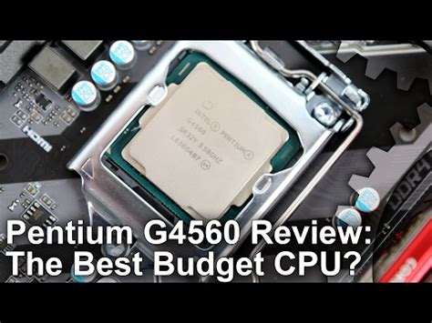 new pentium g4560 motherboard choices help | techpowerup
