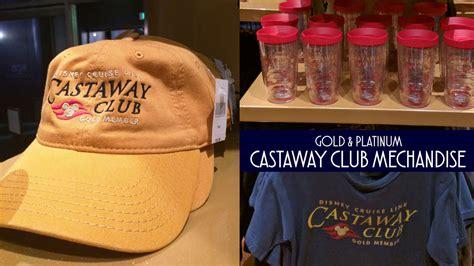 gold platinum castaway club merchandise