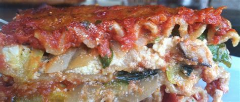 Garden Vegetable Lasagna At My Kitchen Table Garden Vegetable Lasagna